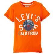 Dětské tričko Levi's oranžová
