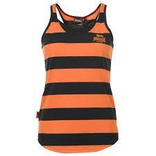 Dámské tílko Lonsdale - oranžové/tmavěmodré
