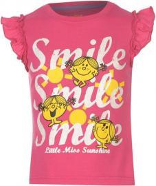 Dětské tílko Little Miss Růžová